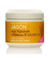 พร้อมส่ง  Jason : Age Renewal Vitamin E Creme 25,000 I.U. Moisturizing Creme  113 g.