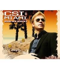 CSI Miami season 7/ ไขคดีปริศนาไมอามี่ ปี 7 (7DVD) ** Master สองภาษา**