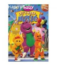DVD Barney - Let's Make Music