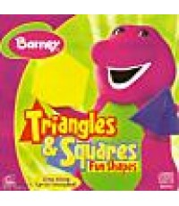 DVD Barney - Triangles & Squares