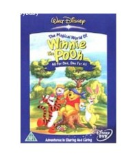 DVD Winnie The Pooh : All For One , One For All (Sub:Eng)