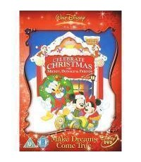 DVD Celebrate Christmas With Mickey Donald And Frienas