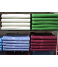 ผ้าเช็ดตัวสีต่างๆ