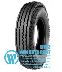 ยางนอก 6.50-16 12PR D102 T/T ยางรถบรรทุก  ยี่ห้อ Deestone Light Truck Tires