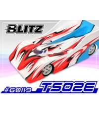 BLITZ LOLA Body 200mm.For 1/10 EP