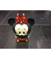 ตุ๊กตาเสียบเสาอากาศรถยนต์ มินนี่เมาส์ ตัวใหญ่ แบบกลม  Minnie Mouse