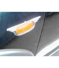 ครอบไฟเลี้ยวข้าง โครเมียม (Side Vent) Mitsubishi Pajero Sport  ปีกนก
