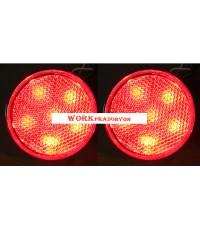 ไฟทับทิมกันชนท้าย TOYOTA ALTIS 08-10 แดง LED (V.2)