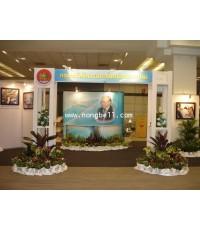 งานตกแต่งต้นไม้งานสัมมนาแรงงานไทย 30-31 พฤษภาคม 53 BITEC บางนา