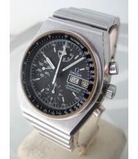 OMEGA 1970 Speedmaster Mini125 Auto chronograph Size 39mm หน้าปัดดำพิมพ์พรายน้ำขีด บอกวันและวันที่ตำ