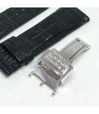 ชุดบานพับทองคำฝังเพชรแท้ ทำสำหรับใส่กับนาฬิกาเรือนทองคำสายหนัง ได้ทุกยี่ห้อ มีทั้งขนาด 14, 16,18, 20