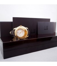 Alfred Dunhill X Centric Limited edition xxx/250 18k Rose Gold for man size 40mm หน้าปัดขาวประดับหลั