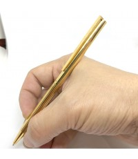 DUPONT CLASSIQUES Silver sterling 925 with gold plated Nice pen pre-owned with box paper