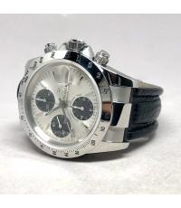 TUDOR 79280 Prince date Chronograph 2003 ขนาด 40mm ใส่ได้ทั้งชาย และหญิง หน้าปัดแพนด้า Silver-Black