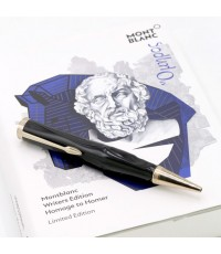 ปากกาหมึกแห้ง Montblanc Homage to Homer Rollerball Pen Fineliner Limited Writers Edition New Limited