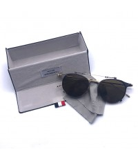 แว่นกันแดด THOM BROWNE TBS 814 01 FLIP-UP Sunglasses Made In Japan ขนาดเฟรม 49 mm.