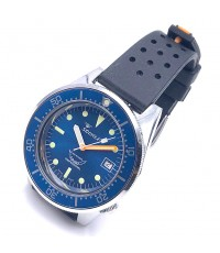 SQUALE 50 Atmos 1521 blue automatic men\'s watch ขนาด 42 mm.