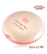(Pre-order) Etude House Peach skin pact 12 g. แป้งพีชเนื้อเนียนละเอียด ให้ลุควาวๆ แบบสาวเกาหลี