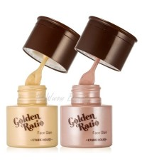 (Pre Order) Etude house Golden Ratio Face Glam ไฮไลท์ช่วยเพิ่มประกายให้กับผิวหน้า ดูมีมิติ