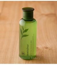 (Pre Order)Innisfree Green Tea Moisture Skin 200 ml โทนเนอร์ให้ความชุ่มชื้นแก่ผิว อุดมด้วยชาเขียว