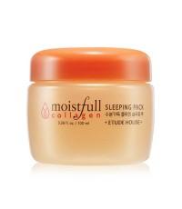 (พร้อมส่ง)Etude House Collagen Moistfull Sleeping Pack (new)มาส์คทาแล้วนอนช่วยเติมความชุ่มชื้นให้ผิว