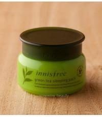 (พร้อมส่ง) Innisfree Green Tea Sleeping Pack 80ml. มาส์คก่อนนอนผสมชาเขียว ช่วยลดริ้วรอย ผิวหน้าตึง