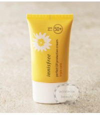 (พร้อมส่ง) Innisfree Perfect UV Protection Cream (triple care) spf50/PA+++ 50ml. ครีมกันแดด