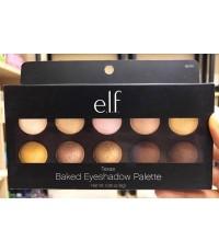 (Pre Order) e.l.f. Baked Eyeshadow Palette 85141 Texas พาเลทอายแชโดว์ 10 สีประกายมุก สีสวยติดทนนนาน