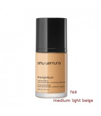 (พร้อมส่ง เบอร์ 764 Medium Light Beige) Shu Uemura Lightbulb Fluid Foundation spf 25/pa+++ 30 ml. รอ
