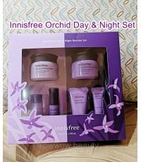 (ป้ายไทย/พร้อมส่ง)Innisfree Orchid Day  Night Set เซ็ทบำรุงผิวหน้าเดย์ ไนท์ ลดริ้วรอย ผิวนุ่มชุ่มชื