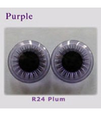Brainworm Eye Chip: Purple - R24 Plum