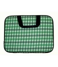 กระเป๋าโน๊ตบุ๊คใหญ่สีเขียว