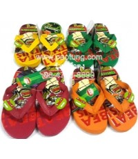 รองเท้าแตะฟองน้ำเด็กผู้ชาย ลิขสิทธิ์ นินจาเต่า ขายส่ง