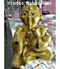 กุมารพลายทองดูดทรัพย์ รุ่นเสาร์ห้า ขนาดใหญ่ ลพ.ดำ วัดพระพุทธบาทรัตนคีรี ขอนแก่น