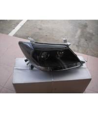 โคมไฟหน้า Fortuner Projector (ดำ) ยี่ห้อ DEPO