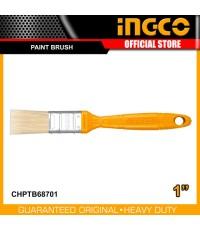 INGCO แปรงทาสี 1 นิ้ว ด้ามพลาสติก รุ่น CHPTB68701