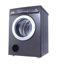 เครื่องซักผ้าสีดำหรูขนาด 6 กก