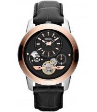 นาฬิกาข้อมือ ฟอสซิล Fossil ME1125 Grant Twist Leather Watch – Black