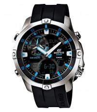 นาฬิกาข้อมือ Casio Edifice Analog-Digital EMA-100-1A Marin Lines
