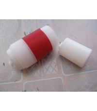 อุปกรณ์ มายากล ไม้เท้าสีขาว - แดงเป็นผ้า Vanishing Plastic cane Red - White (พลาสติก) อุปกรณ์พร้อมแผ