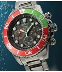 SEIKO Solar Chronograph Diver Limited Edition SSC241