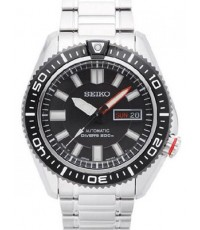 Seiko Divers Automatic Black Dial Stainless Steel Men\'s Watch SRP495