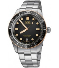 ORIS Divers Sixty-Five Bronze bezel 01 733 7707 4354 รุ่นใหม่ล่าสุด
