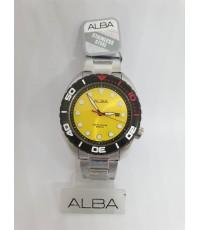 นาฬิกา ALBA Limited Executive in Thailand รุ่น AG8J69X (สีเหลืองดอกแดนดิไล)