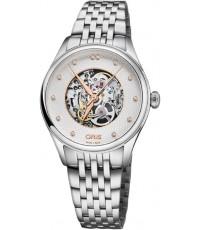 นาฬิกา ผู้หญิง Oris Artelier Skeleton   Watch  01 560 7724 4031-07 8 17 79
