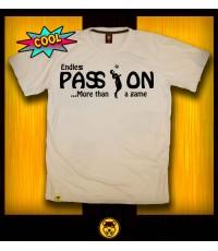 เสื้อยืด T-shirt Passion (XXL) เสื้อยืด คอกลม ลายพาสชั่น  ผ้าคอตต้อนแท้100 *สินค้าแนะนำ