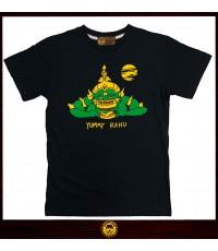 เสื้อยืด T-shirt Yammy Rahu (XL) เสื้อยืด คอกลม ลายเบอร์เกอร์ปราคา ผ้าคอตต้อนแท้100 *สินค้าออกใหม่