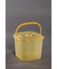 ถังน้ำ+ฝา 2gl PN.663 สีเหลือง