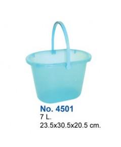 ถังน้ำ 7 Lt No.4501 สีฟ้า