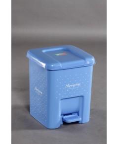 ถังขยะเหยียบ 9 Lt 1000 สีฟ้า